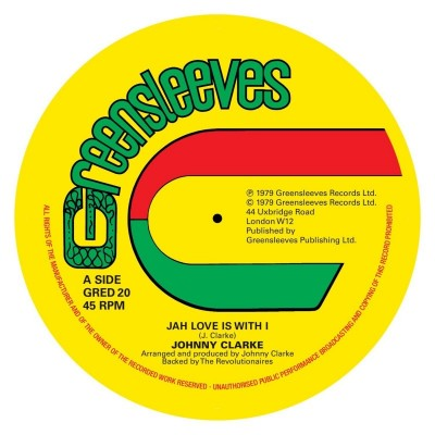 Johnny Clarke – Jah Love Is With I / Bad Days Are Going