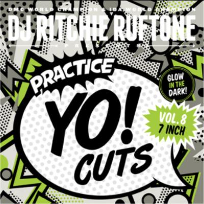 Dj Ritchie Ruftone - Practice Yo! Cuts Vol. 8 (coloured)